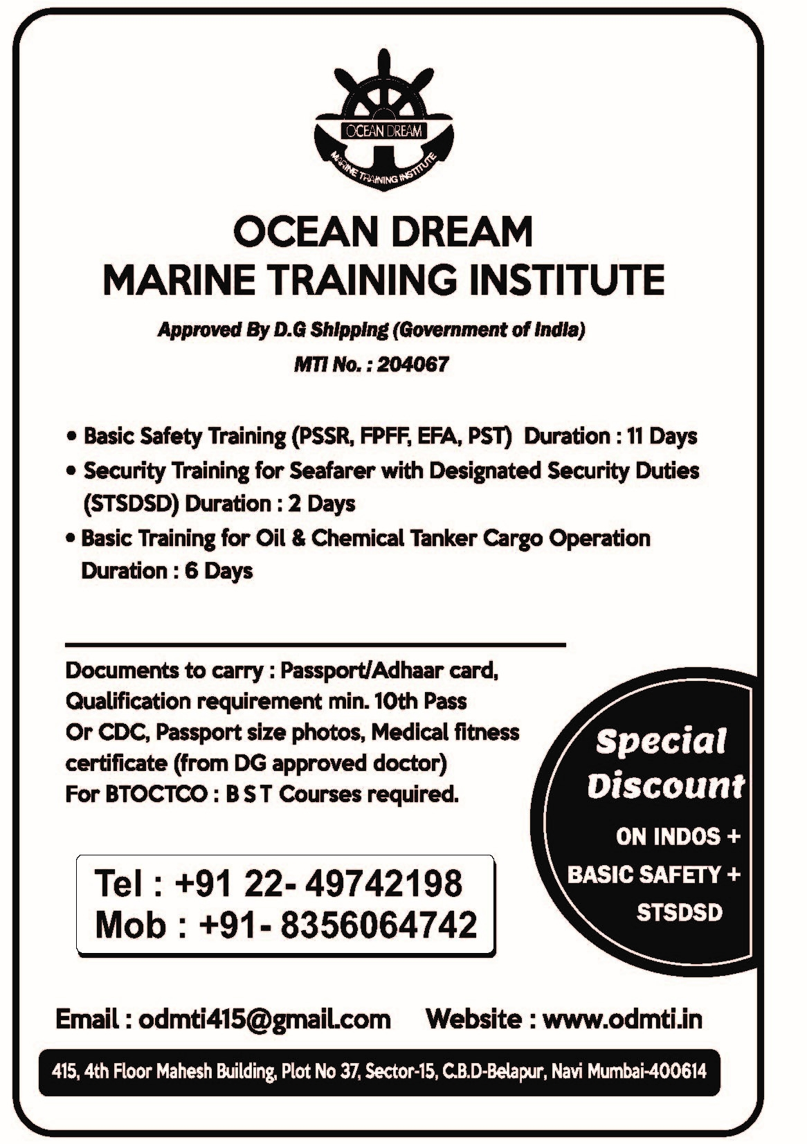 Ocean Dream Marine Training Institute